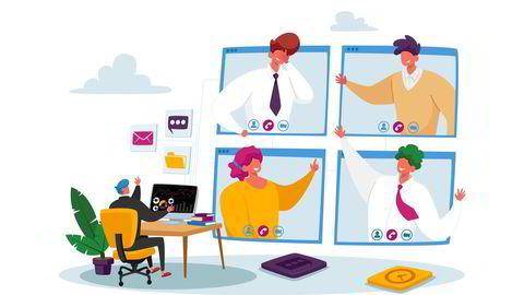 Det er ikke lite lett å inspirere medarbeidere gjennom nettmøter som ansikt til ansikt.