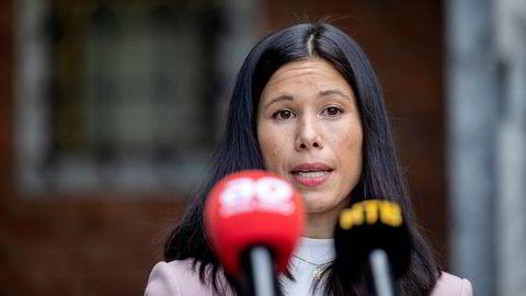 Hvilken byrådsstilling hadde Lan Marie Berg i byrådet i Oslo som trakk seg onsdag?