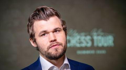 Sjakkspiller Magnus Carlsen.