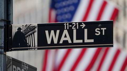 New York Stock Exchange (NYSE) på Manhattan, New York.