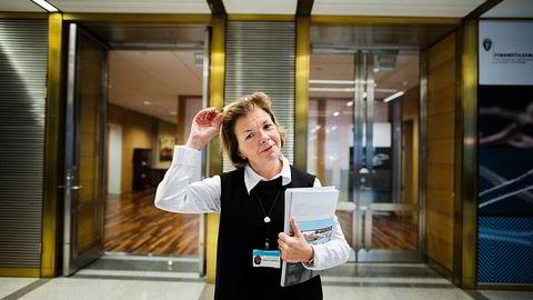 Anne Merethe Bellamy er Finanstilsynets direktør for markedstilsyn.