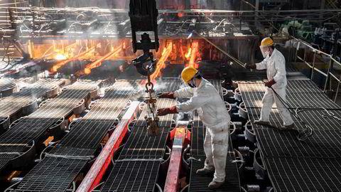 Det er høy aktivitet i den kinesiske økonomien og stålverkene produserer hva de kan. Foreløpig er import av jernmalm fra Australia fredet i den pågående handelskonflikten. Prisen på jernmalm er rekordhøy.