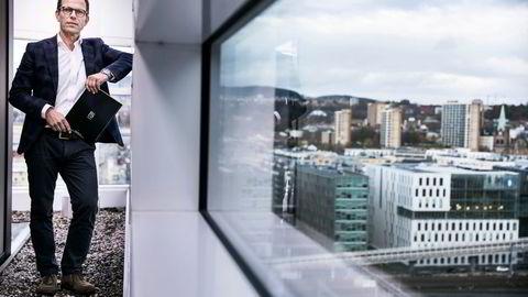 Seniorrådgiver Mikkel Røisland i rådgivningsselskapet Røisland & Co mener bygging av flere småleiligheter vil dempe boligprisveksten i Oslo.