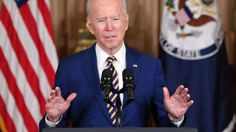 President Joe Biden sa i sin utenrikspolitiske tale i Utenriksdepartementet 4. februar at USA vil konfrontere autoritære Kina og Russland.