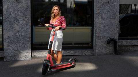 Voi-sjef Christina Moe Gjerde mener taket på elsparkesykler er for lavt.