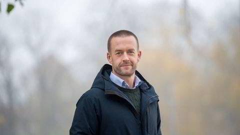 Andreas Martinussen har vært administrerende direktør i Solon Eiendom siden september, etter at Stig L. Bech gikk av.