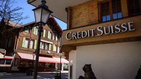 Credit Suisse fikk dårlig betalt for risikoen. Her fra en av bankens filialer i Gstaad i Sveits.