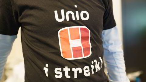 Unio sa nei til lønnstilbudet på 2,8 prosent og har tatt ut 7600 medlemmer i streik.