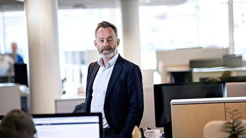 Sjefredaktør og administrerende direktør i Dagens Næringsliv Amund Djuve.