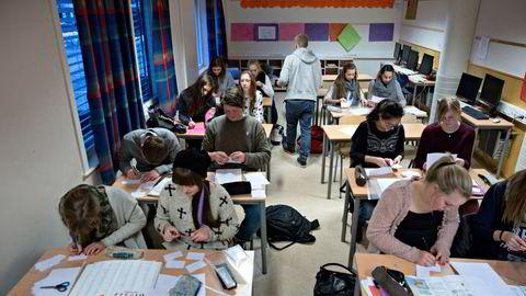 Klasseromsundervisning var normalen. Slik har det ikke vært det siste året.