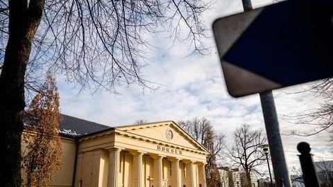 Hovedindeksen på Oslo Børs har steget over åtte prosent siden årsskiftet.