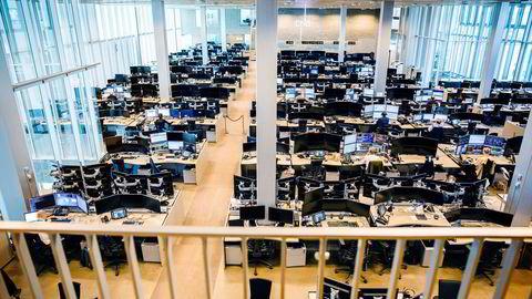 Kun seks prosent av ansatte i finansnæringen hadde annen etnisk bakgrunn enn norsk, skriver artikkelforfatteren.