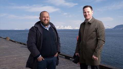 Gard Michalsen og Kjartan Ridderseth har i løpet av det siste året sagt opp redaktør- og direktørstillinger. Nå starter de opp jobbportalen «Heia Nord-Norge».