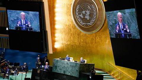 President Bidens første tale til FNs generalforsamling gir håp.