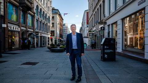 Bjørn Næss, administrerende direktør i Oslo Handelsstands Forening.