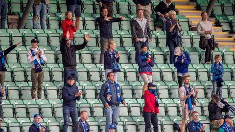 Stabæks styreledere mener de samarbeidende selskapenes innflytelse på det sportslige i klubbene er en styrke for norsk fotball, skriver Gunnar-Martin Kjenner. Stabæk-tilhengere ser Stabæk møte Strømsgodset på Nadderud stadion 1. juli.