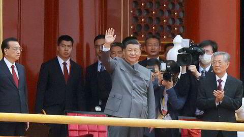 Kinas president Xi Jinping markerte hundreårsdagen for grunnleggelsen av kommunistpartiet 1. juli.