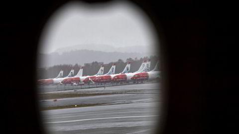 Kommer Norwegian-flyene seg i luften igjen – eller blir de malt om til «Flyr».