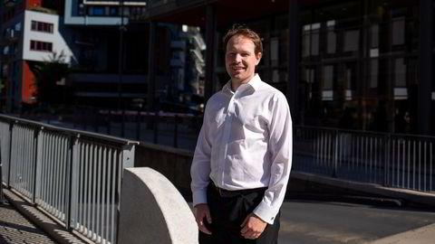 Analytiker Knut Ivar Bakken i Sparebank 1 Markets er ikke veldig overrasket over at Salmar får en partner med på offshore-satsingen sin.