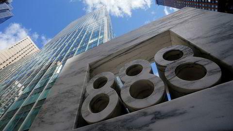 Bygningen som huset ansatte hos familiefondet Archegos Capital. Manhattan, New York.