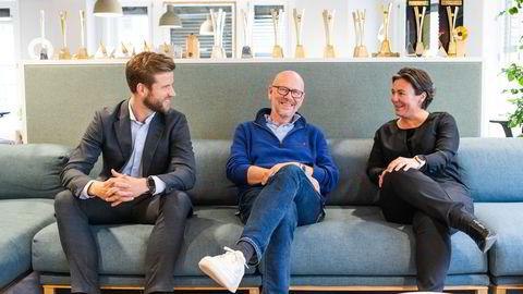 Kjetil Try fortsetter som eier og konsernsjef når Ferd overtar over kontrollen over Try as. Try delte nyheten sammen med co-Head Rikke Reinemo og Erik Theodor Jakobsen i Ferd Capital.