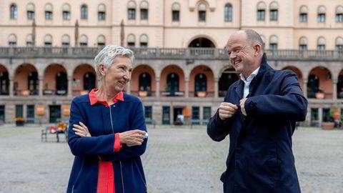 Peggy Hessen Følsvik LO og NHO Ole Erik Almlid LO og NHO har samlet Norges viktigste industriaktører bak en ny plattform. Målet er å legge politiske føringer for kraft- og industripolitikken helt frem til 2050.