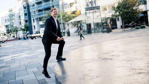 Lars Erik Moen, aksjesjef i Danske Invest Norden, har valgt høy eksponering mot finanssektoren.