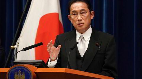 Japans nye statsminister, Fumio Kishida, lover en ny form for kapitalisme for verdens tredje største økonomi. Det har satt en støkk i investorer.