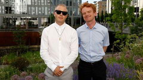 Herman Flesvig og Mikkel Niva står bak landets mest populære podkast «Friminutt».