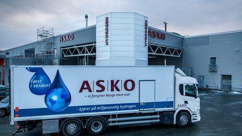 Asko har utviket en hydrogen dreven lastebil.