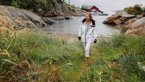 Internasjonal sjef i Vipps, Berit Svendsen, tror dagens unge har for mye press på seg – og skulle gjerne ønske at Norge utdannet flere innen it-fag. Hun har fulgt årets Samordna opptak fra hytta på Hvaler.