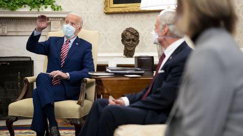 USAs president Joe Biden ønsker en storstilt satsing på å oppgradere den amerikanske infrastrukturen. Han mener Kina ligger langt foran og at dette vil ramme den amerikanske konkurranseevnen.