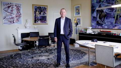 Jens Ulltveit Moe har både vunnet og tapt på sine børsinvesteringer. Her avbildet i 2018.