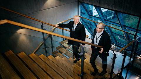 Både den nye og gamle konsernsjefen sto på lønningslisten i fjor. Begge har frasagt seg retten til å motta bonus for 2020. Til venstre Anders Opedal, til høyre Eldar Sætre.