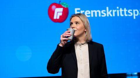 Avtroppende partileder Siv Jensen har pekt på nåværende nestleder Sylvi Listhaug som sin arvtaker.