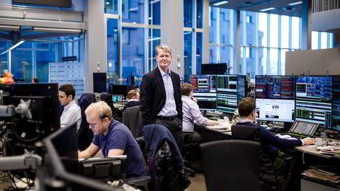 Analysesjef Morten Jensen i DNB Markets. Bildet er fra 2017.