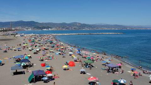 Malaga på sørkysten av Spania er et populært reisemål for mange nordmenn. Fra mandag venter innreisekarantene ved ankomst til Norge – med mindre du har norsk eller europeisk koronasertifikat.