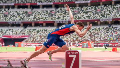 Karsten Warholm tok OL-gull i 400 meter hekk og satt ny verdensrekord på Olympiastadion i Tokyo.