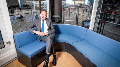 Konsernsjef i Danske Bank, Chris Vogelzang, går på dagen.