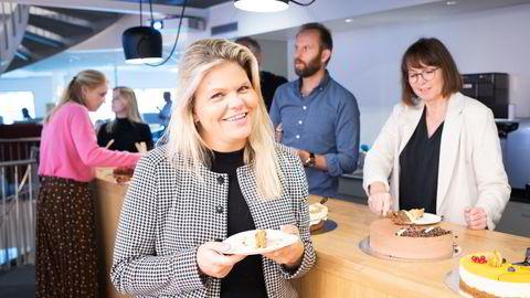 Tinna Gudmundsdottir, målgrupperedaktør og stedfortredende sjefredaktør.