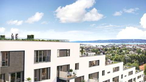 - Det er ikke prisen som gjør at den ikke er solgt, sier informasjonssjef Åge Pettersen i Obos. 97 millioner kroners leiligheten på Majorstuen i Oslo deles nå opp to leiligheter som får en prislapp på henholdsvis 37 og 60 millioner kroner.
