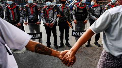 Tidligere i år tok militæret i Myanmar makten.