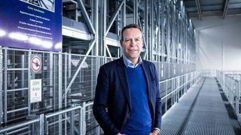 Orkla-sjef Jaan Ivar Semlitsch har kjøpt Orkla-aksjer for en halv million kroner.