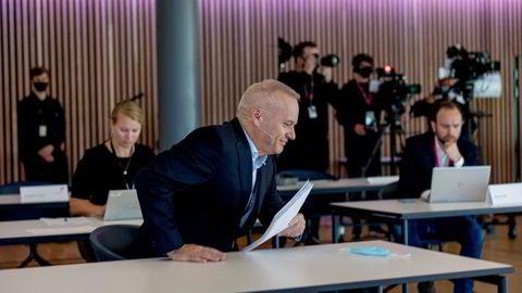 Equinors konsernsjef Anders Opedal har en plan for hvordan han skal omstille oljekjempen. Tirsdag morgen presenterte han selskapets strategioppdatering på en pressekonferanse.