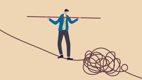 Det er ikke rart at noen ledere får vondt når de må omstille seg.