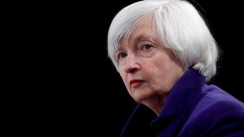 Janet Yellen ber politikerne heve gjeldstaket, for å unngå at USA skal misligholde gjeld.