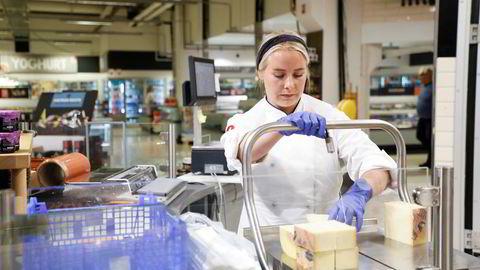 Linda Gullbekk er kokk, og har byttet ut Bristol Grill med ferskvareavdelingen på Meny Bryn.