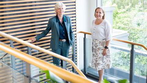 Dagrun Dvergsdal (til venstre) er rådgiver for direktør i Multiconsult, Grethe Bergly. Sammen snudde de Multiconsult i 2019. Men prosessen startet egentlig flere år tidligere med grundig teambygging.