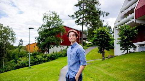 Herman Olsen Bruvik blir NHH-student til høsten.