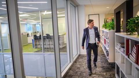 – Markedsforholdene fortsetter å være svært utfordrende, sier TGS-sjef Kristian Johansen.